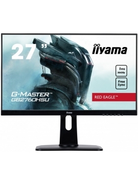 Monitor iiyama G-MASTER GB2760HSU-B1 RED EAGLE 1ms 144Hz FreeSync