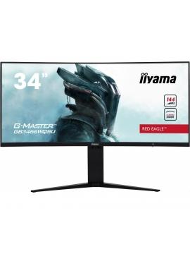 Monitor iiyama G-Master GB3466WQSU Red Eagle VA, 144Hz, 1ms, zakrzywiona matryca