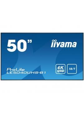 Monitor iiyama ProLite LE5040UHS-B1 AMVA 18/7 iiSignage