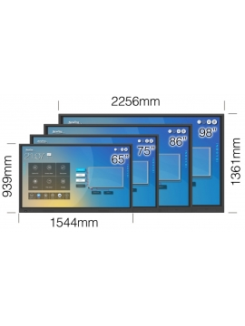 Monitor Newline TruTouch TT-8619RS 4K WIFI 86 cali (VAT 0%)