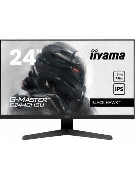 Monitor iiyama G-Master G2440HSU-B1 BLACK HAWK IPS 1ms 75Hz FreeSync