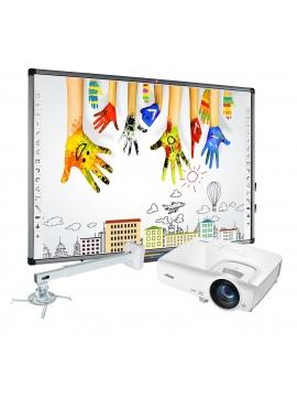 Zestaw interaktywny Avtek 80 PRO Tablica Avtek TT-BOARD 80 + Projektor Vivitek DX283ST + Uchwyt WallMount Next 1200)