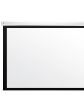 Ekran Kauber White Label 230x173 (4:3) Black Frame