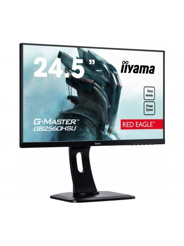 Iiyama G-MASTER GB2560HSU-B1 25 RED EAGLE 1ms 144Hz FreeSync