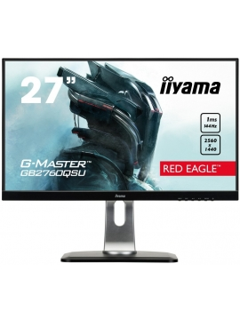 iiyama G-MASTER GB2760QSU-B1 27 RED EAGLE 1ms 144Hz WQHD FreeSync