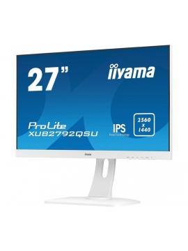 Monitor iiyama ProLite XUB2792QSU-W1 WQHD IPS FlickerFree BlueLightReducer