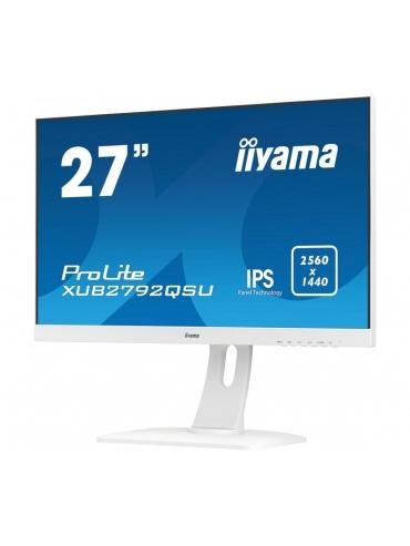 iiyama ProLite XUB2792QSU-W1 BIAŁY 27'' WQHD IPS FlickerFree BlueLightReducer