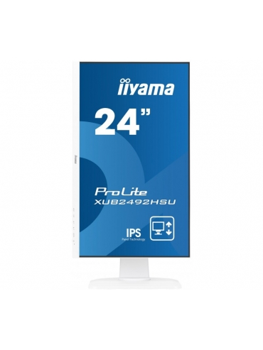 iiyama ProLite XUB2492HSU-W1 BIAŁY UltraSlim IPS FlickerFree BlueLightReducer