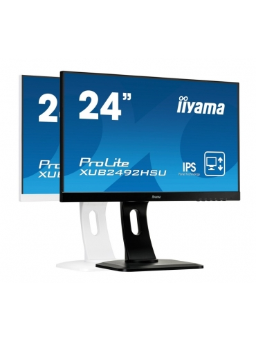 iiyama ProLite XUB2492HSU-B1 UltraSlim IPS FlickerFree BlueLightReducer