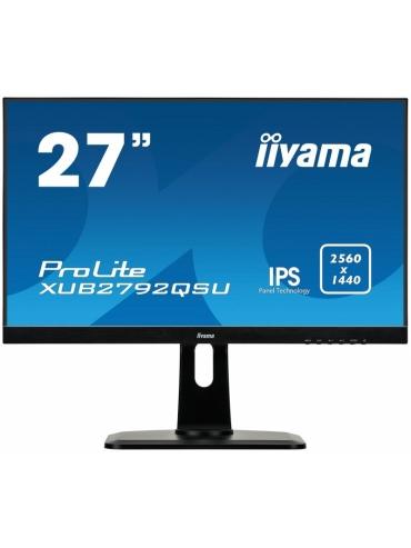 iiyama ProLite XUB2792QSU-B1 27'' WQHD IPS FlickerFree BlueLightReducer