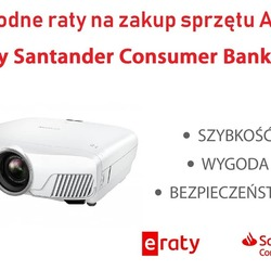 Zapraszamy do zakupów w formie ratalnej w systemie eRaty Santander Consumer Banku. - rata dopasowana do klienta - kredyt bez wychodzenia z domu - szybka decyzja kredytowa  #eraty #santander #avpoint