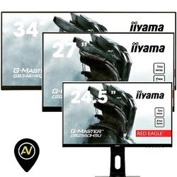Monitory gamingowe iiyama z serii G-Master Red Eagle dzięki odświeżaniu 144Hz oraz krótkiemu czasowu reakcji 1ms gwarantują ostrość, płynność i brak smużenia obrazu w najbardziej wymagających grach. Technologia Blue Light Reducer odpowiada za eliminację, szkodliwego dla oczu niebieskiego światła. Funkcja Pivot pozwala na rotację monitora o 90° do pozycji pionowej. Seria Red Eagle dostępna jest w trzech rozmiarach i rozdzielczościach 25-cali 1920x1080 GB2560HSU, 27-cali 1920x1080 GB2760HSU i GB2760QSU 2560x1440 oraz 34 cale 3440x1440 GB3461WQSU-B1, a także 3440x1440 GB3466WQSU z zakrzywioną matrycą. Zapraszamy do zakupu. #iiyama #redeagle #gaming #gb3461 #gb3466 #gb2760 #gb2560 #avpoint