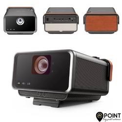 ViewSonic X10-4K to przenośny projektor (bezlampowy) LED z żywotnością źródła światła na poziomie 30000 tyś godzin. Wyposażony został w 4 rdzeniowy procesor, 2 GB pamięci ram i 16 GB pamięci wewnętrznej. Parametry które, drzemią w tym kompaktowym projektorze (waga 4kg) zasługują na uwagę. Mamy do dyspozycji rozdzielczość UHD 4K 3840x2160 pikseli, wsparcie dla standardu HDR10, wraz z szeroką gamą kolorów Rec.709, wbudowane głośniki znanego i cenionego producenta Harman Kardon, a także automatyczne ustawiania ostrości i korekcję trapezu. Przekłada się to doskonale na jego szybkie i łatwe ustawienie względem ekranu czy ściany. 100 calowy obraz jest do uzyskania już z odległości 1,7m. Zintegrowana łączność WiFi umożliwia przesyłanie strumieniowe, a wsparcie dla Amazon Alexa i Google Assistant zapewnia wygodę obsługi głosowej. Dodatkowym atutem jest zastosowana technologia interpolacji klatek, która doskonale niweluje wszelkie rozmycia w dynamicznych scenach filmowych czy grach video. X10-4K został nagrodzony w międzynarodowym konkursie wzorniczym IF Design Award za swój nietuzinkowy, solidny i elegancki wygląd. #viewsonic #x104k #4kuhd #hdr10 #rec709 #avpoint
