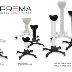 Uniwersalne uchwyty sufitowe Suprema Spider Small to idealne, trwałe i bardzo estetyczne rozwiązanie do zamocowania projektora. Sprawdzą się idealnie w biurze, jak i zaciszu domowym. Producent proponuje cztery długości stałe 10cm i 20cm, a także regulowane w zakresie 30-40cm i 40-60cm. Dodatkowym plusem są trzy wersje kolorystyczne biała, czarna oraz srebrna, oraz to, że jest możliwość poprowadzenie przewodów wewnątrz ramienia. Dopuszczalny rozstaw otworów montażowy projektora wynosi od 40 do 310mm a precyzyjna regulacja w pionie +/- 15° i poziomie +/- 8° zostanie doceniona przez instalatorów. Zapraszamy do zakupu. #supremascreen #spidersmall #avpoint #supremapolska