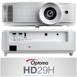 Optoma HD29H to nowy projektor 1080p skierowany do domowej rozrywki, jest wypełni kompatybilny ze standardem HDR, więc zapewnia odbiór właściwych metadanych. Wierne odwzorowanie kolorów rec.709 sRGB oraz wysoki kontrast to gwarancja realistycznych projekcji. #optomaprojector #hd29h #amazingcolour #avpoint @optomauk
