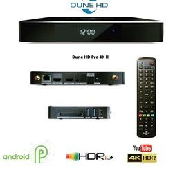 Dune HD Pro 4K II to najnowszy odtwarzacz 4K z HDR10+ tej marki, posiada zupełnie nowy procesor Realtek 1619. Oprócz autorskiego systemu opartego na Linuksie mamy do dyspozycji Android w werrsji 9.0. Pro 4K II obsługuje nowy kodek VP9 profil 2, dzięki czemu mamy dostęp do treści YouTube 4K z HDR. Wrażenie robi bardzo dopracowany interfejs specjalnie zoptymalizowany do użytku na ekranach telewizorów i obsługi za pomocą standardowego pilota, dostrojony pod kątem najlepszej możliwej użyteczności, sprawia, że korzystanie z odtwarzacza multimedialnego jest łatwe i wygodne. #dunehd #dunehdultra4k #4kuhd #hdr10+ #realtek1619 #avpoint