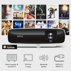 BenQ TK810 to znakomity projektor 4K, który dokładnie odwzorowuje przestrzeni barw Rec.709 i obsługuje najnowsze standardy HDR10 oraz HLG. Urządzenie posiada wbudowany zestaw aplikacji android Aptoide TV. Umożliwia to bezpośredni streaming treści z takich serwisów jak YouTube, Netflix, Amazon Prime, a dodatkowo Bluetooth 4.0 pozwala na szybkie, bezprzewodowe połączenie z zewnętrznymi głośnikami. Zastosowany upłynniacz ruchu eliminuje rozmyte i opóźnione obrazy, zapewniając płynne przejścia w szybkich, dynamicznych scenach filmowych i sportowych. Zapraszamy do zakupu @benq_polska #benqtk810 #4kuhd #aptoidetv #rec709 #hdr10 #avpoint
