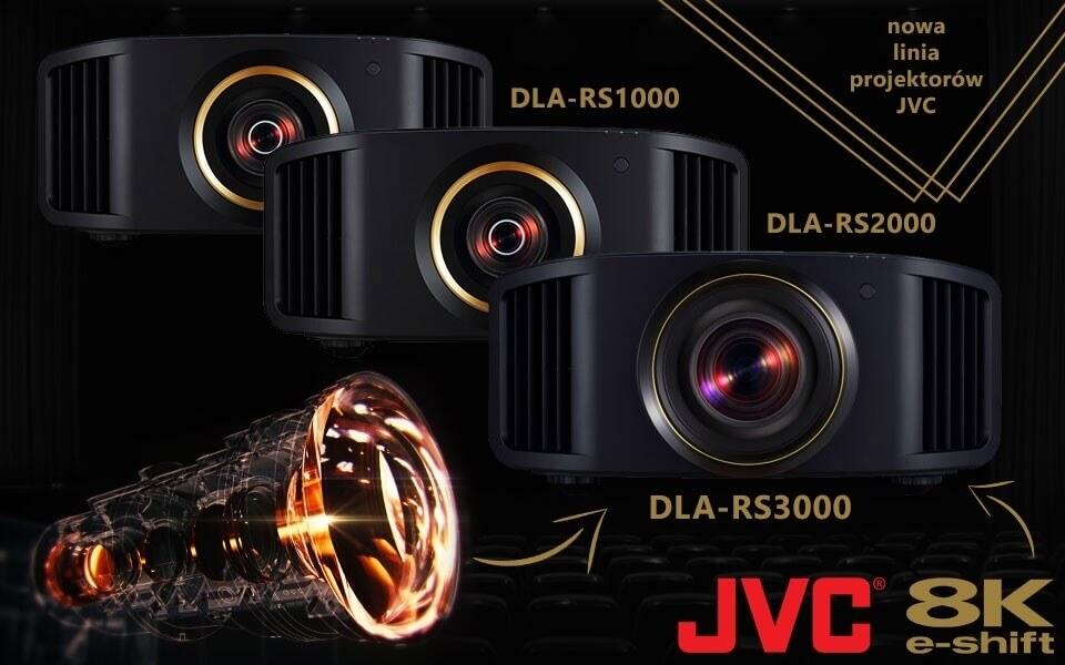 Projektory JVC