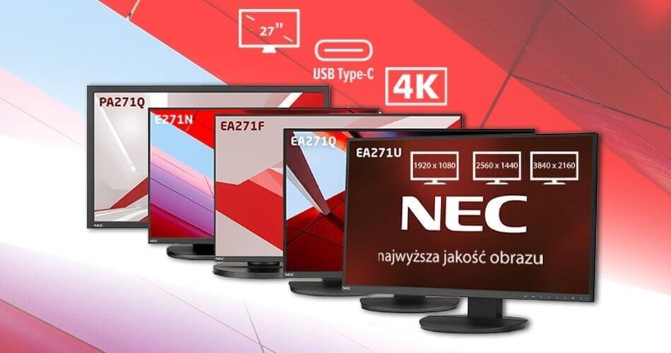 Monitory NEC